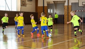 Halový turnaj Velké Pavlovice miniliga – MSK Břeclav U7 (leden 2018) obrázek