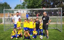Miniliga Benjamínků, turnaj v Hruškách – MSK Břeclav U7 (květen 2018) obrázek